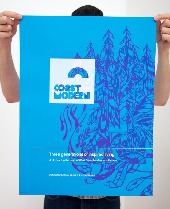 coast modern poster coast modern. Black Bedroom Furniture Sets. Home Design Ideas